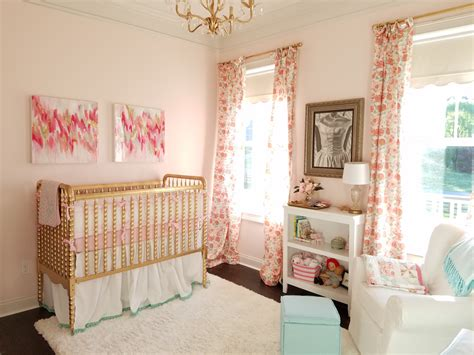 pink nursery pink mint and gold nursery project nursery