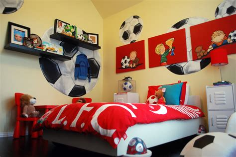 Soccer Bedrooms For by Kix S Soccer Room Traditional Dallas