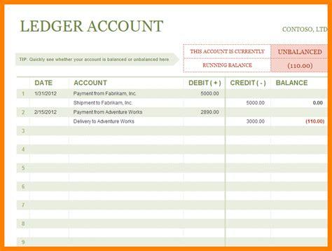 5 Sales Ledger Excel Template Ledger Review Sales Journal Template Excel