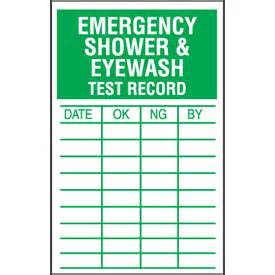 Eyewash Station Faucet Mount Eyewash Test Inspection Labels Shower Labels Safety