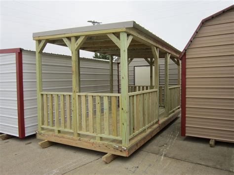 temporary deck portable decks spartan structures
