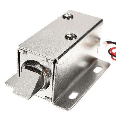lock cabinet assembly 12v dc 1 1a electric lock assembly solenoid cabinet door