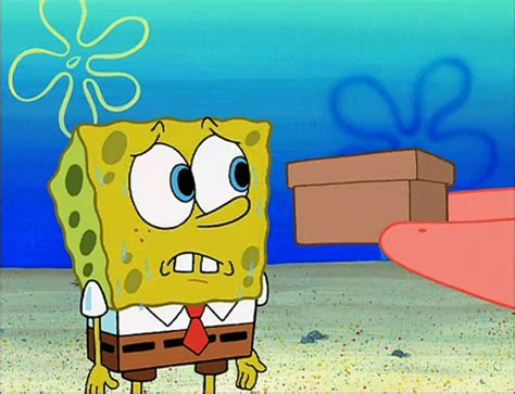 spongebob box spongebuddy mania spongebob episode the secret box