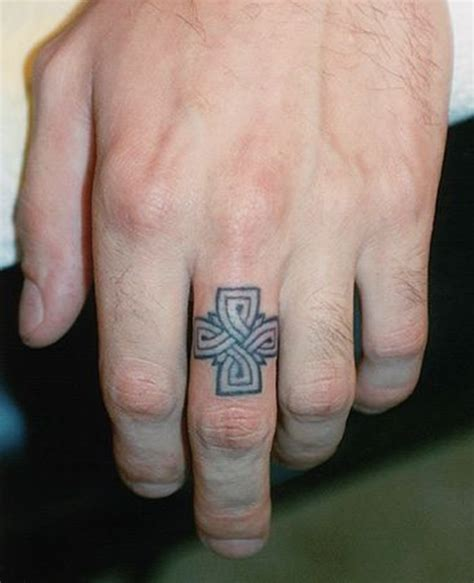 cross ring tattoos 76 of the most inventive wedding band designs