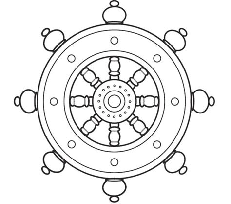 buddhist wheel of template noble eight fold path