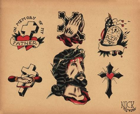 old school tattoo flash flash school