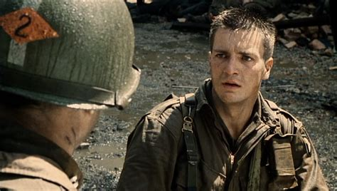 nathan fillion saving private ryan that guy in saving private ryan looks really familiar