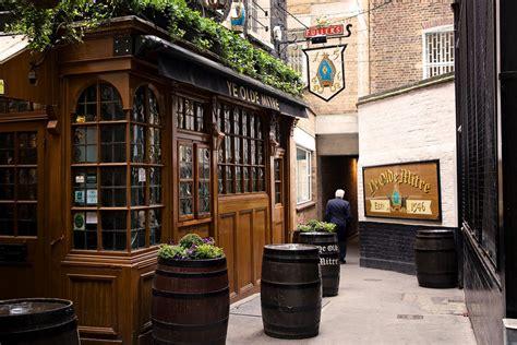 top ten bars london top 10 oldest london pubs c london city