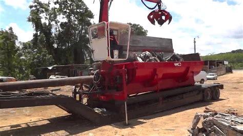 bonfiglioli ariete ferrous metal baler compactor car