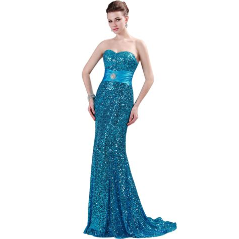 8 Beautiful Cocktail Dresses by The Most Beautiful Sequins Mermaid Prom Dresses