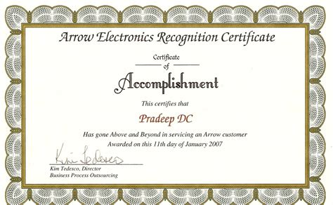 employee award certificate templates free search results for employee of the month certificate