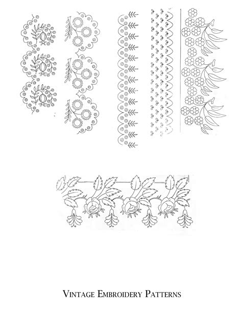 vintage embroidery pattern free vintage images archives page 22 of 34 the graffical muse