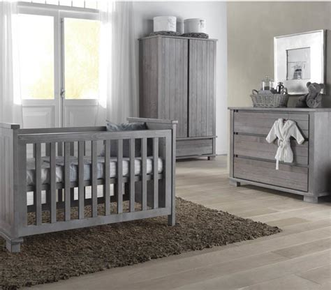 Kidsmill Malmo Grey Nursery Furniture Set Contemporary Gray Nursery Furniture Sets