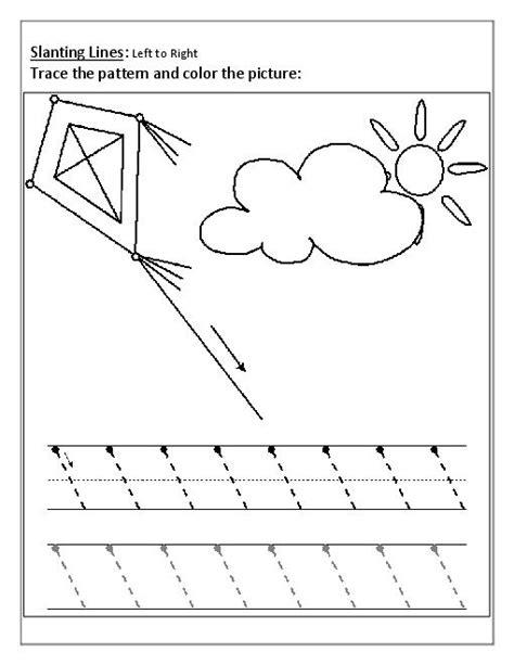 pattern writing slanting lines patterns slanting lines worksheets teacherlingo com