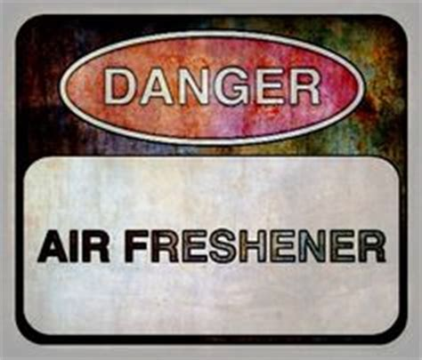 Detox Air Freshener by The Chemicals Used In Scented Products Can Make Some