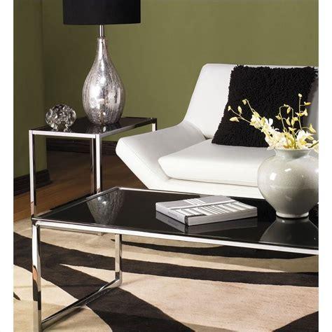 Black Glass Coffee Table Set Avenue Six Yield Black Glass Top Coffee Table Review Best Coffee Table Sets Sale