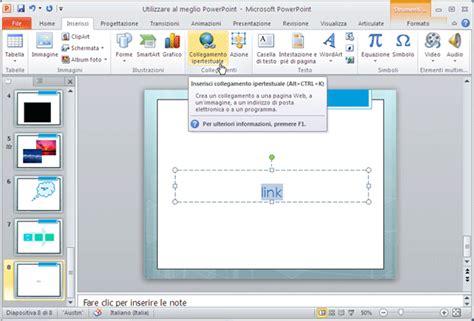 tutorial link powerpoint tutorial per l utilizzo di base dei contenuti digitali