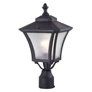 Lowes Patio Lighting Dvi Lighting Dvp143014bk Si Swansea Outdoor Post Light Lowe S Canada