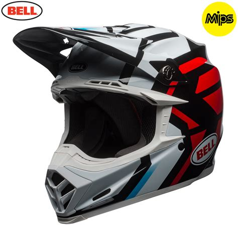 bell motocross helmets uk 2018 bell moto 9 mips helmet district black red bell mx