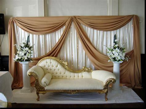 wonderful simple wedding stage backdrop with easy diy