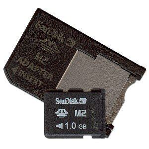 sandisk 1gb m2 memory card with adapter for sony ericsson sdmsm2 1024a computers