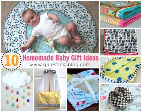 Handmade Baby Gifts To Make - baby gift ideas sewing crochet maybe knitting