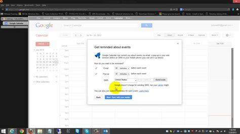 Gmail Calendar Sync Sync Gmail Calendar With Outlook Calendar Template 2016