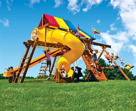 rainbow play systems san antonio outdoor playsets