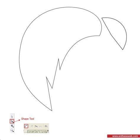 tutorial vector line art dengan coreldraw membuat wajah vector di coreldraw corel tutorial