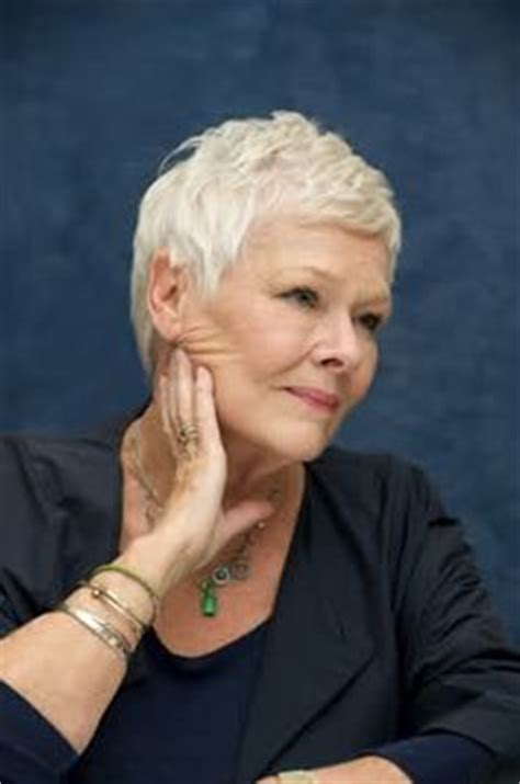 how to cut judi dench hair judi dench isn t she just lovely famous women