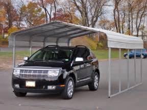 Steel Car Shelter Rhino Shelter Steel Carport 12x20x8 Free Shipping