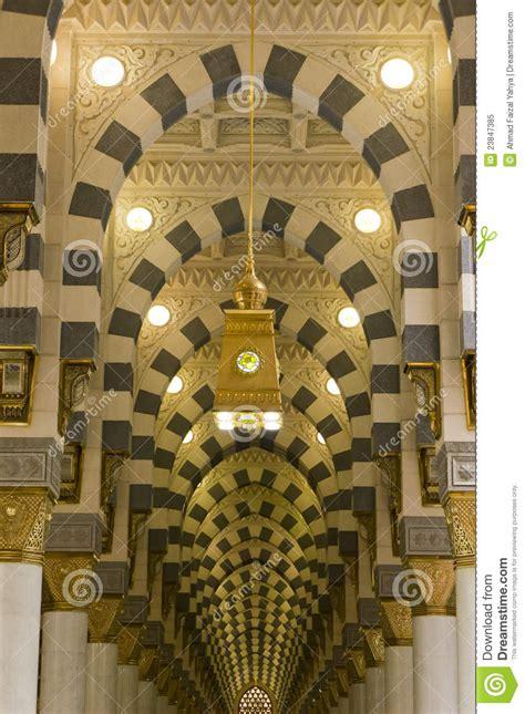 interior  masjid mosque nabawi  medina royalty