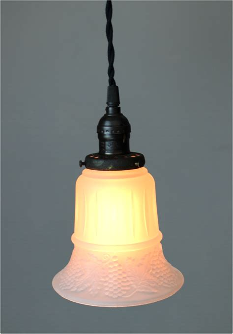 What Size Light Fixture Satin Glass Shade 2 1 4 Quot Fitter Size Pendant Light Fixture The Bay