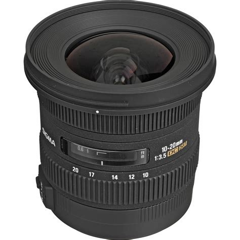 Sigma Lens 10 20mm F3 5 Ex Dc Hsm sigma 10 20mm f3 5 ex dc hsm a mount lens info