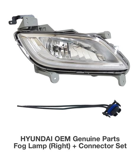 2012 hyundai veloster fog lights oem genuine parts fog l light rh assy connector for