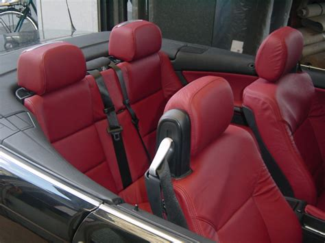 Lederpflege Autositze Cabrio by Bmw 320 Cabi Mit Lederinterieur Jaggi Autosattlerei