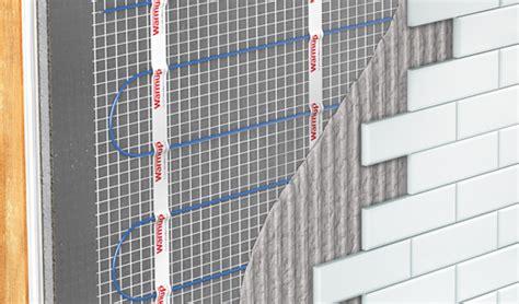 Wall Heating for your Bathroom   Heated Walls   Warmup UK