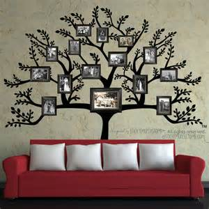 family wall murals gallery for gt family tree wall mural with frames