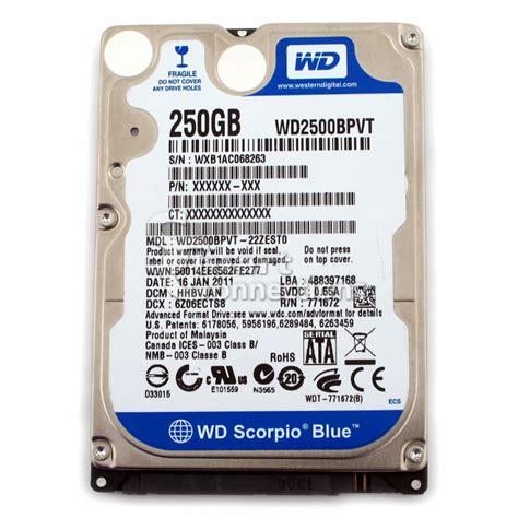 Hdd 250 Gb hdd laptop 250gb c