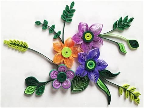How To Make Flowers With Paper Strips - diy key chain craft with felt doughnut key chain