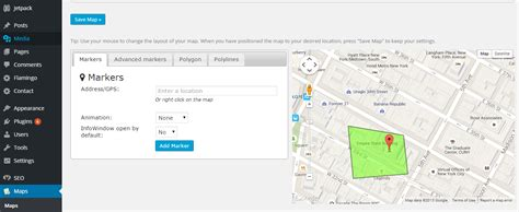 wordpress layout map google maps wordpress plugins visualmodo wordpress themes