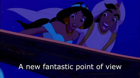 A Whole New World by A Whole New World 1080 Hd With Lyrics