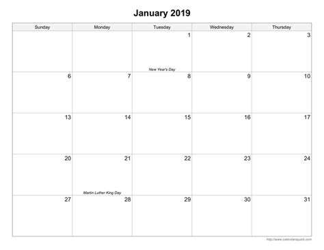free 5 day calendar template 5 day calendar template