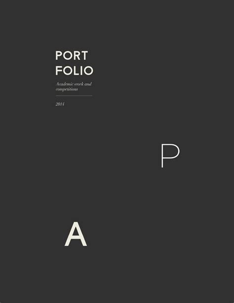 Industrial Resume Examples by Best 25 Portfolio Architecture Cover Ideas On Pinterest