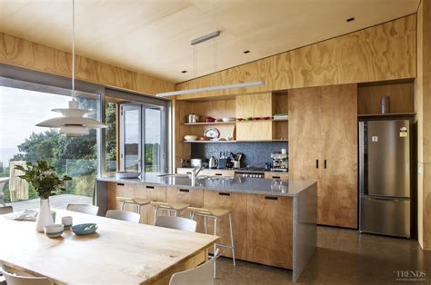 marine plywood kitchen cabinets home design ideas contrasting plywood on walls cabinets and ceilings in new