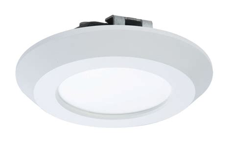 halo led disc light halo 4 inch led recessed surface white disk light the