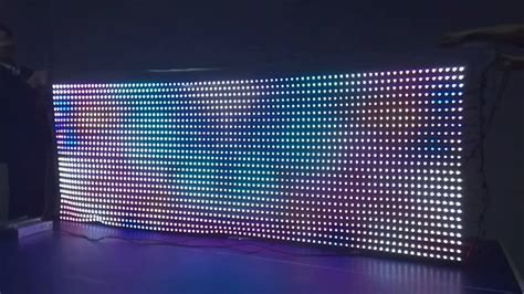led wall curtain led curtain display 5050 digital led h801se lpd8806