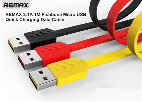 Kabel Data Remax Fishbone Original raya deal original remax charging data cable series for micro usb 2 in 1 type c 11street