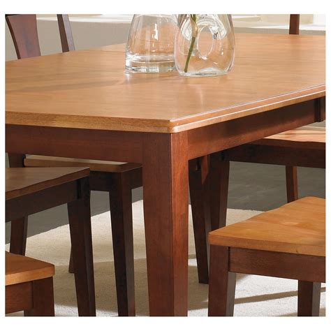 solid wood dining table with butterfly leaf a america bristol point solid wood counter height dining