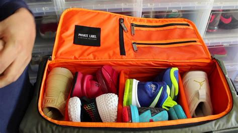 sneaker bag review label sneaker travel bag quot green bombr